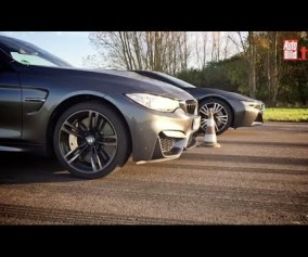 BMW M4 Coupe versus BMW i8