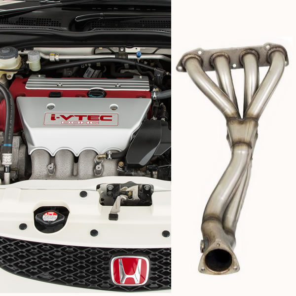 Colectores de escape Piper para Honda Civic Type R 2.0 EP3