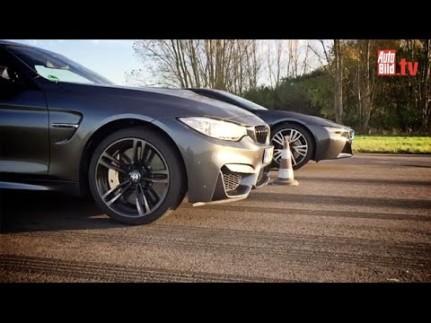 BMW M4 Coupe versus BMW i8