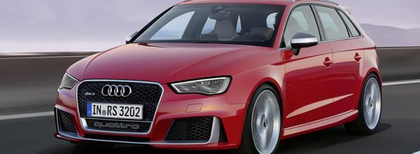 Audi RS3 Sportback apresentado com 367 cavalos de potência