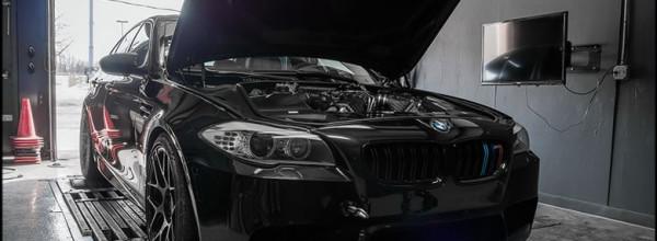 Aumento de potência motor para BMW M5 para 643 cavalos de potência