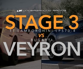 Drag Race: Lamborghini Gallardo Superleggera (Underground Racing) VS Bugatti Veyron